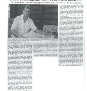 Hallertauer Zeitung 8.5.1999